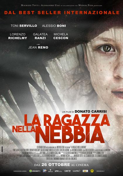 Locandina del film La Ragazza nella Nebbia di Donato Carrisi