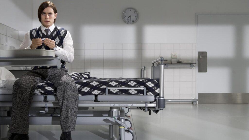 Jared Leto in una scena del film Mr Nobody