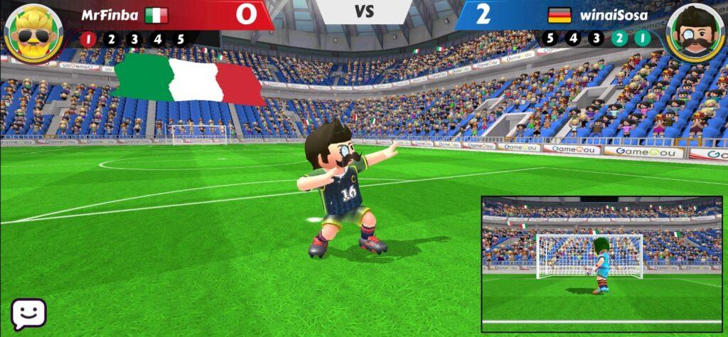 5 giochi di calcio: perfect kick 2
