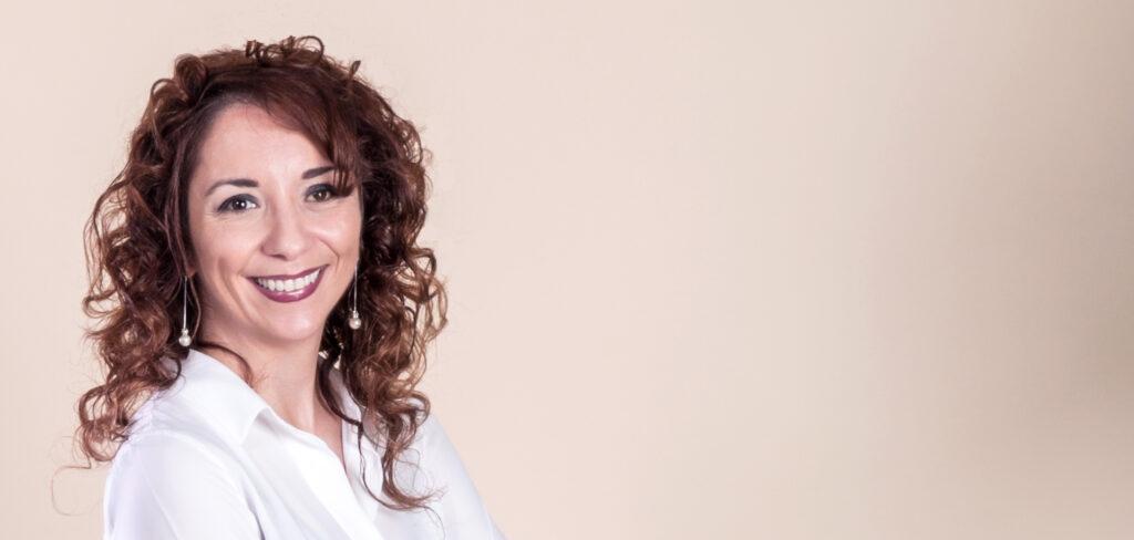 Carmen Laterza, autrice del libro I ricordi non fanno rumore