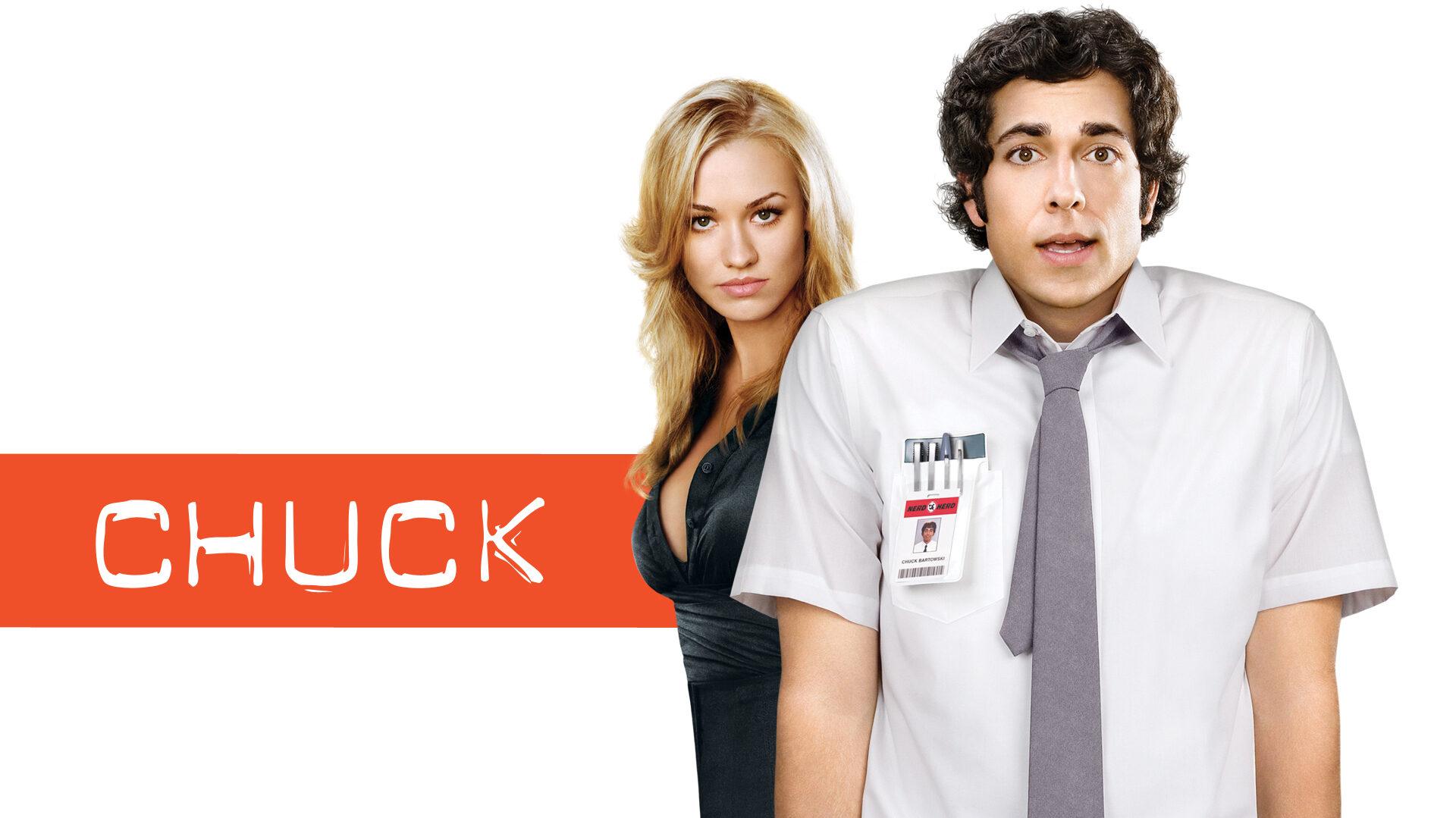 Chuck serie tv la copertina