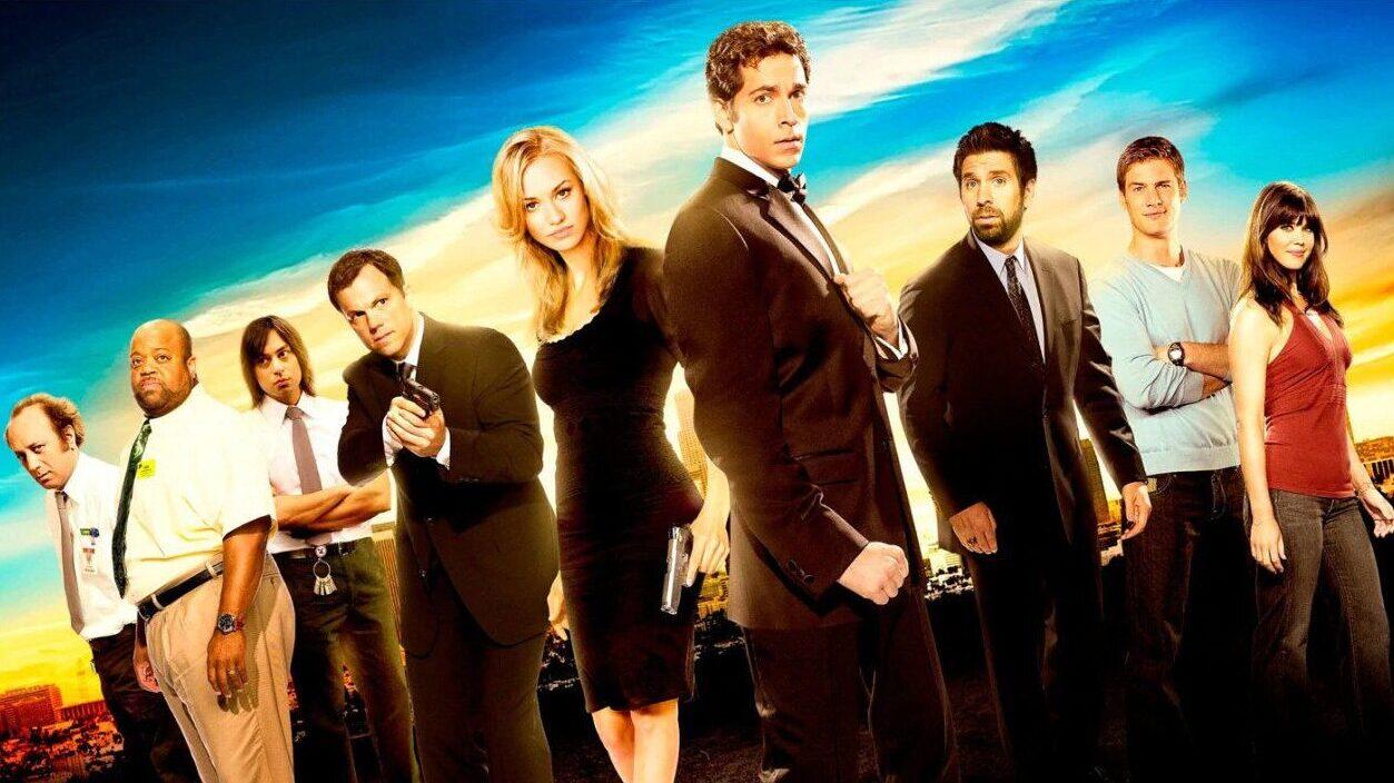 Chuck serie tv il cast