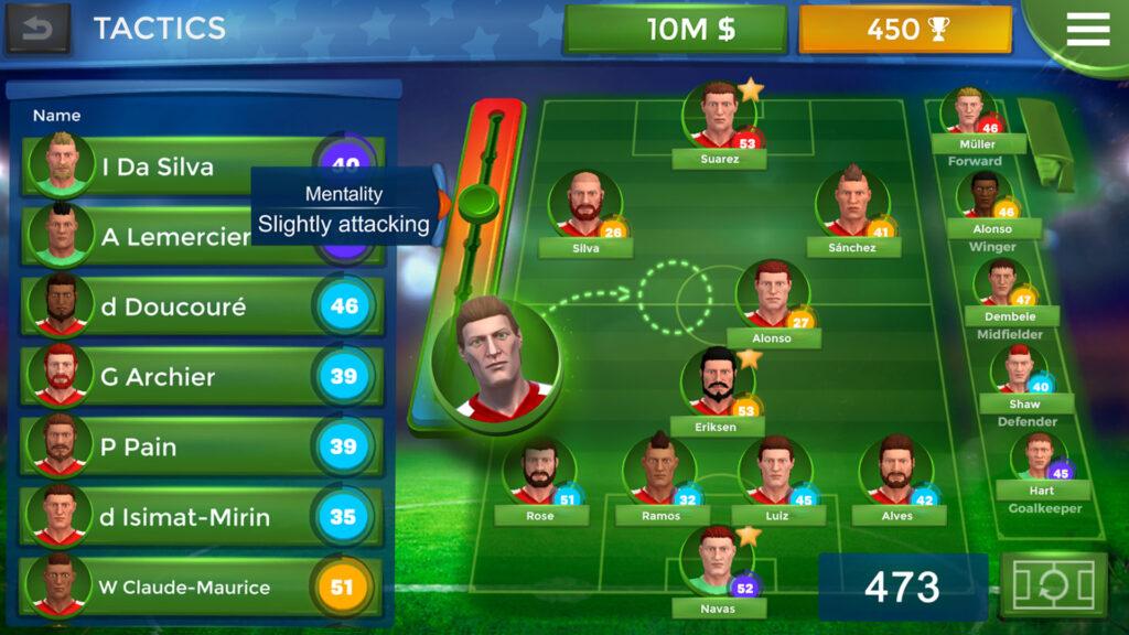 5 giochi di calcio - Pro 11